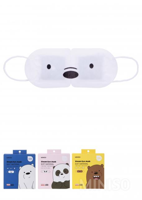 0666821b6c We Bare Bears Steam Eye Mask