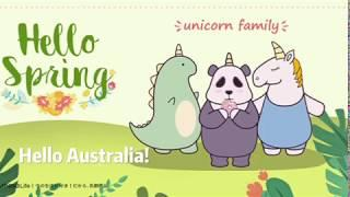 MINISO Unicorn Family