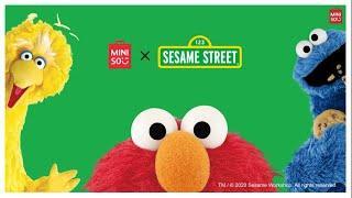 MINISO X Sesame Street