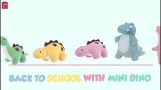 Back To School With Mini Dino#minisoaustralia