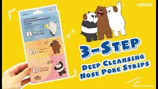 MINISO Deep Cleansing Nose Pore Strips#minisoau
