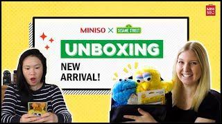 MINISO X Sesame Street PO Box Opening