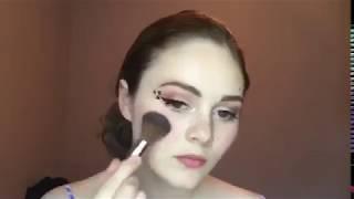 Miniso AU Pink Panther Makeup Tutorial